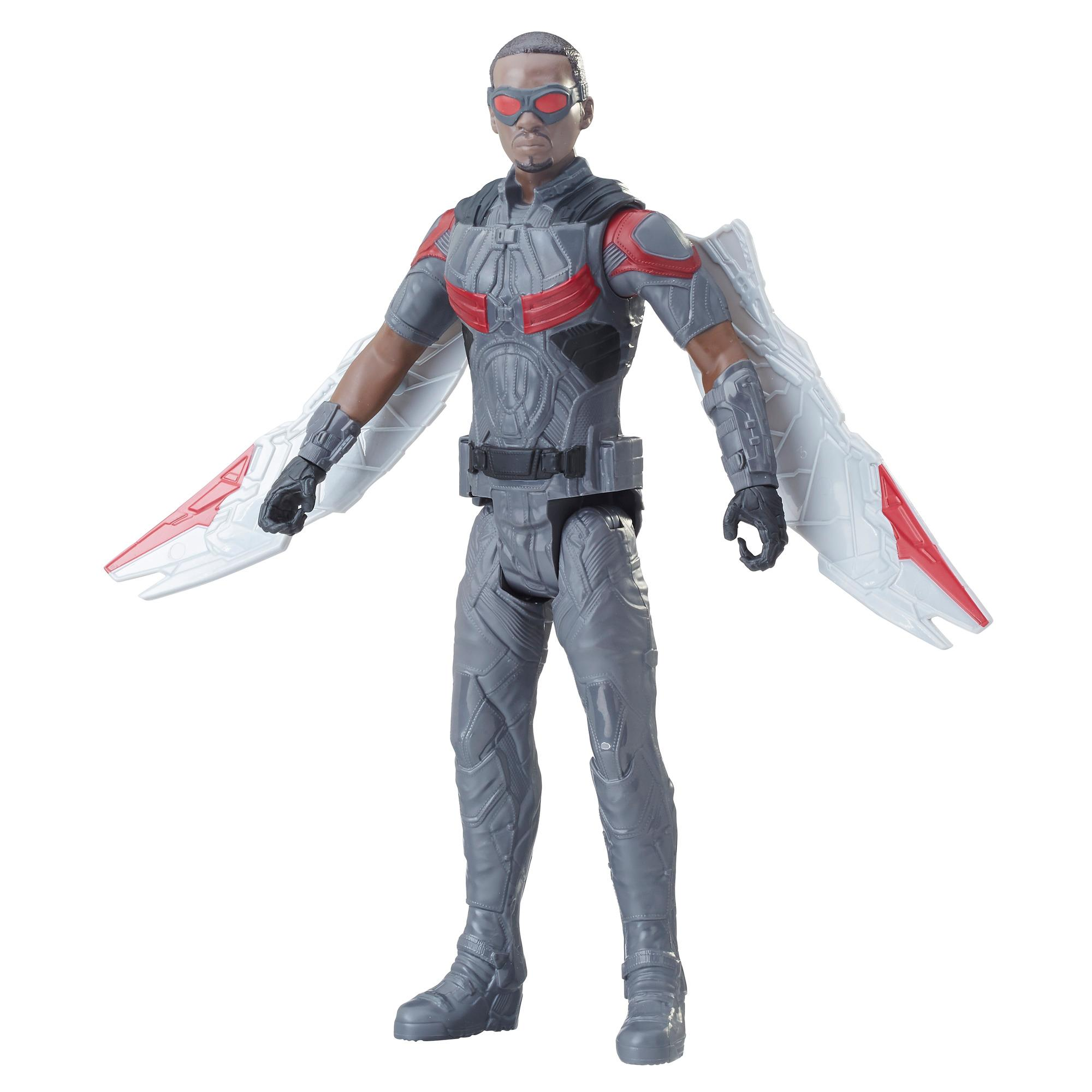 Marvel Avengers: La guerre de l'Infini - Titan Hero Series - Marvel's Falcon avec port Power FX