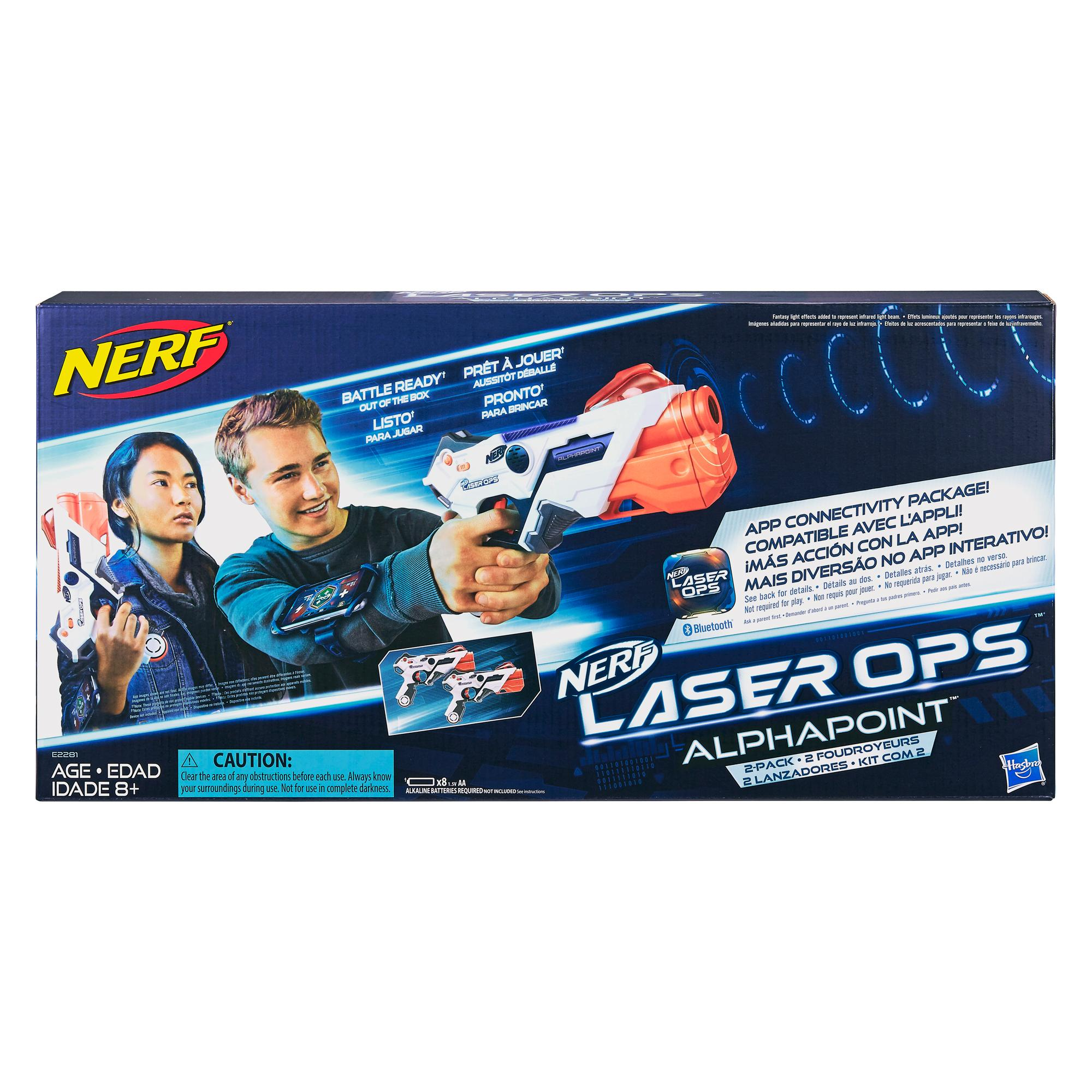 Nerf Laser Ops - 2 foudroyeurs AlphaPoint Pro