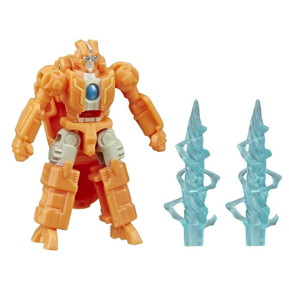 Jouet Transformers Generations War for Cybertron: Siege, figurine Battle Masters WFC-S45 Rung, d'une taille de 3,5 cm, à partir de 8 ans