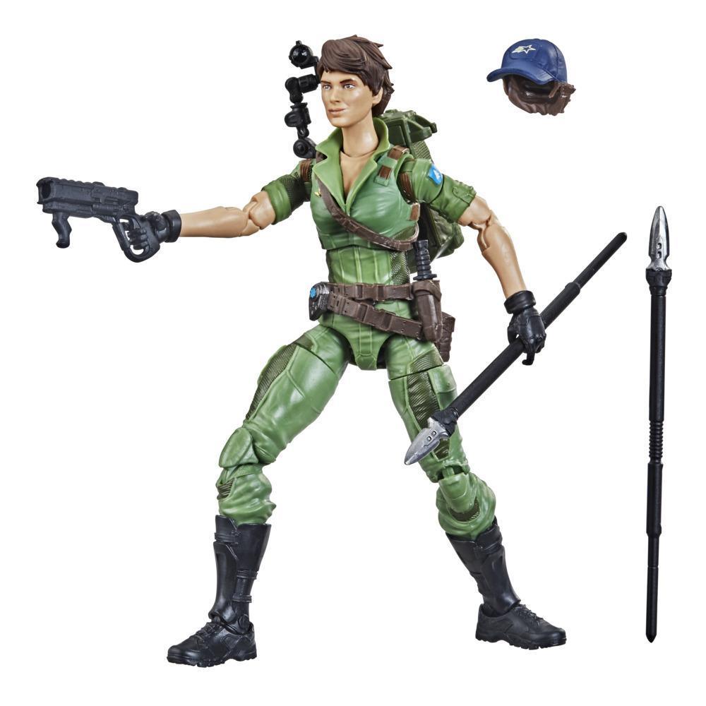 G.I. Joe Classified Series, figurine articulée Lady Jaye 25 à collectionner, accessoires multiples et emballage spécial