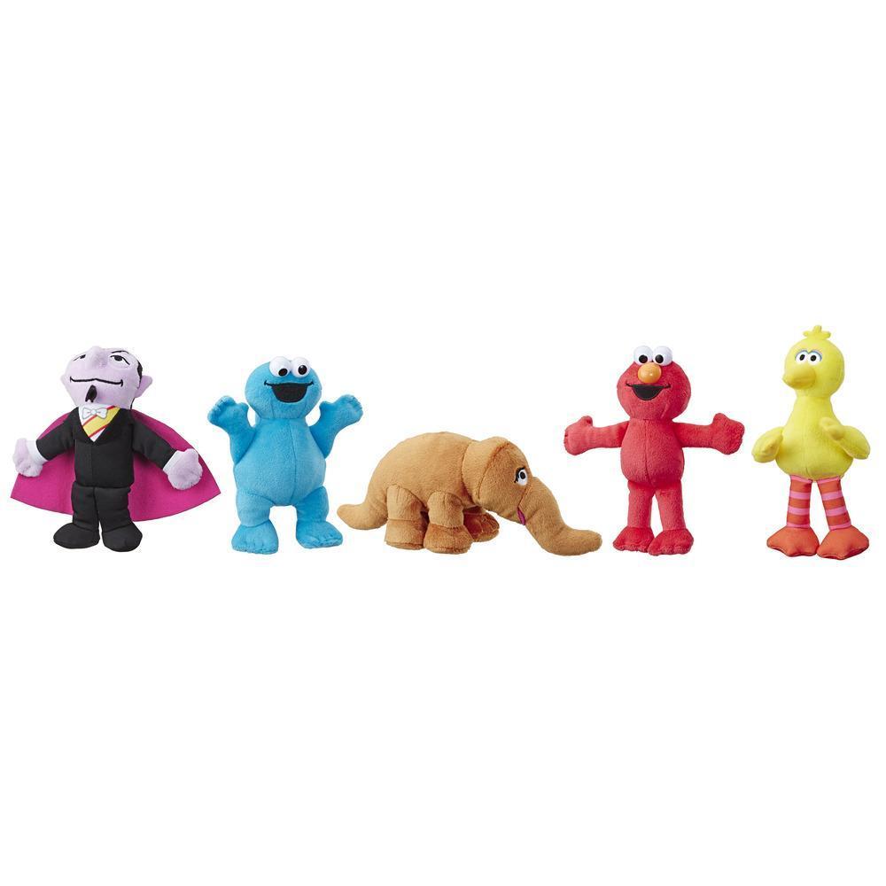Sesame Street - Ensemble de minipeluches festives