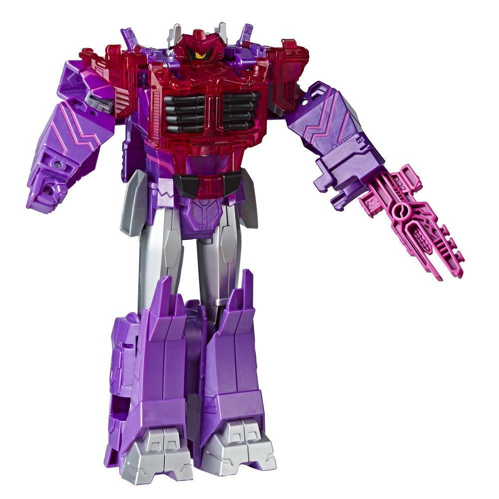 Jouets Transformers Cyberverse, figurine Shockwave, classe ultime