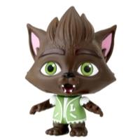 Netflix Super mini monstres - Figurine Lobo Howler de 10 cm à collectionner pour enfants de 3 ans et plus