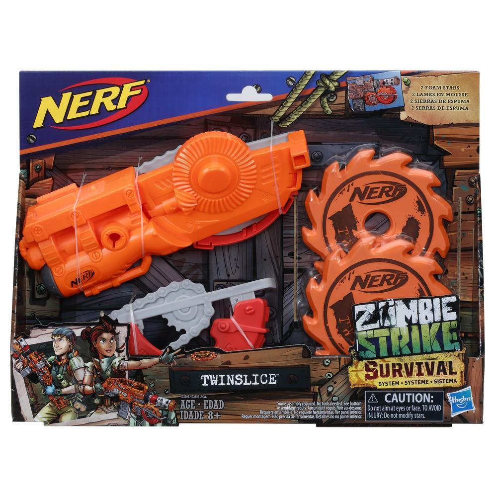 Nerf Zombie Strike - Système Survival - Twinslice