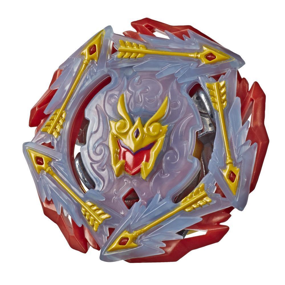 Beyblade Burst Rise Hypersphere - Toupie de combat Rudr R5, type équilibre, à partir de 8 ans