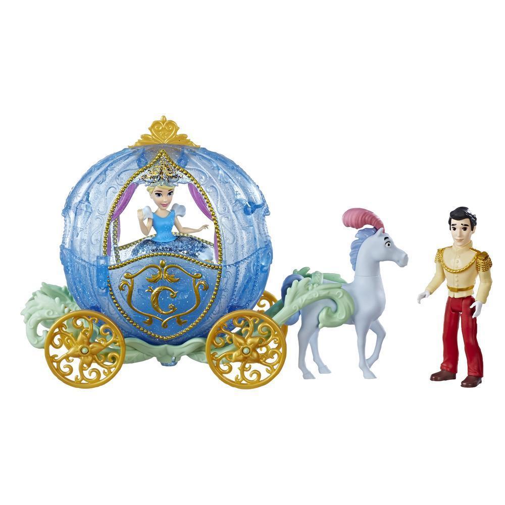 Disney Princess - Balade royale, inclut les poupées Cendrillon et du Prince Charmant