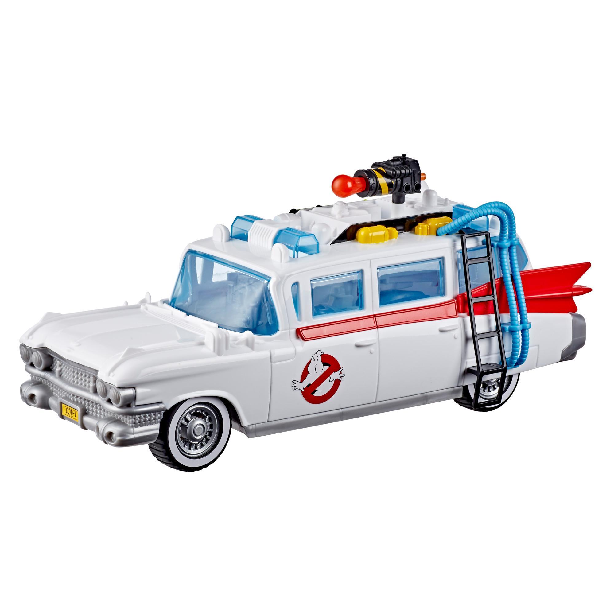 Ghostbusters, film 2020, Ecto-1 avec accessoires, pour enfants, fans et collectionneurs, dès 4ans
