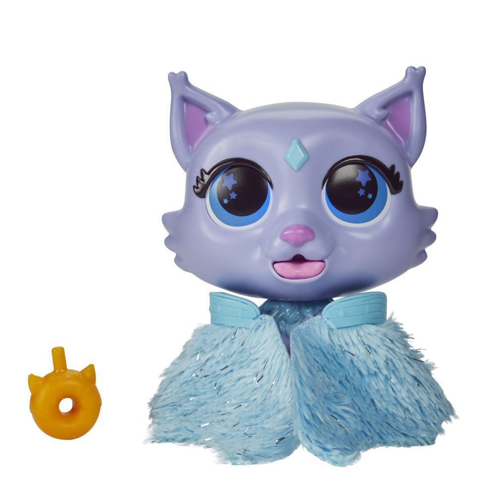furReal Flitter, le chaton, jouet interactif changeant de couleur, jouet à nourrir, à partir de 4ans