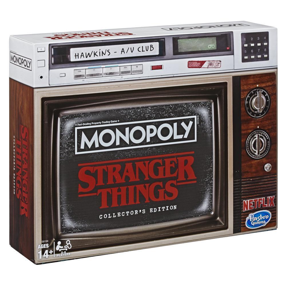 Jeu Monopoly  Stranger Things, Édition de collection, jeu de plateau, à partir de 14ans