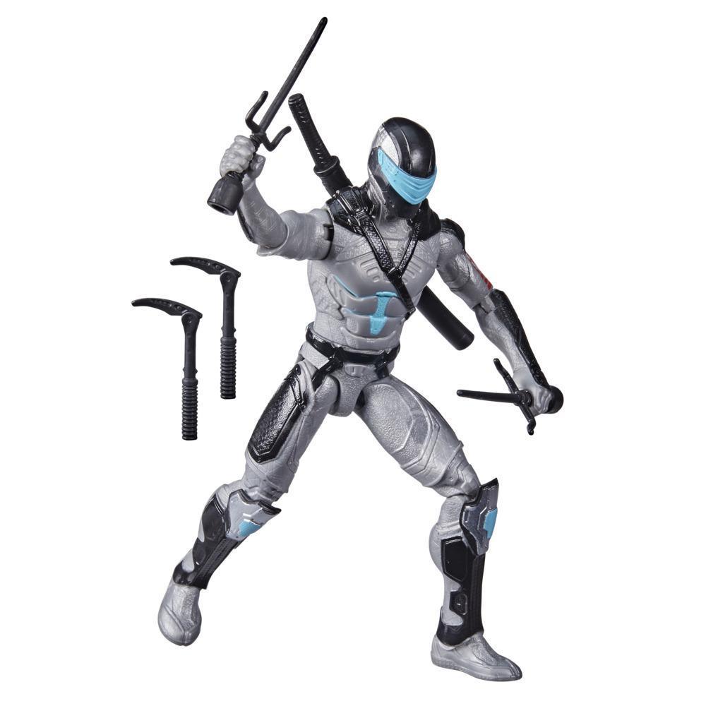 Snake Eyes: G.I. Joe Origins, figurine Snake Eyes Techno ninja, mouvement d'attaque et accessoires, enfants dès 4 ans