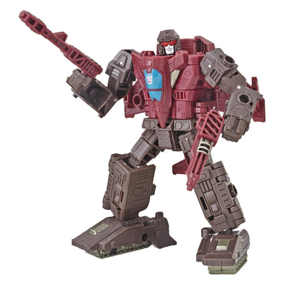 Transformers Generations War for Cybertron: Siege - Figurine Skytread WFC-S7 de classe de luxe