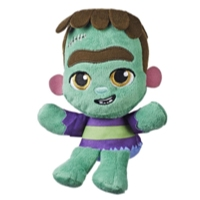 Netflix Super mini monstres - Peluche Super mini monstres Frankie Mash, jouet pour les enfants de 3 ans et plus