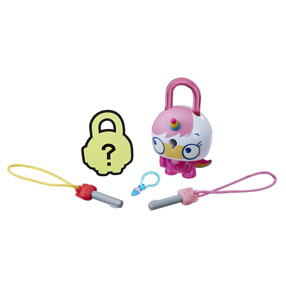 Lock Stars Assortiment de base – Chat-licorne rose Série 1