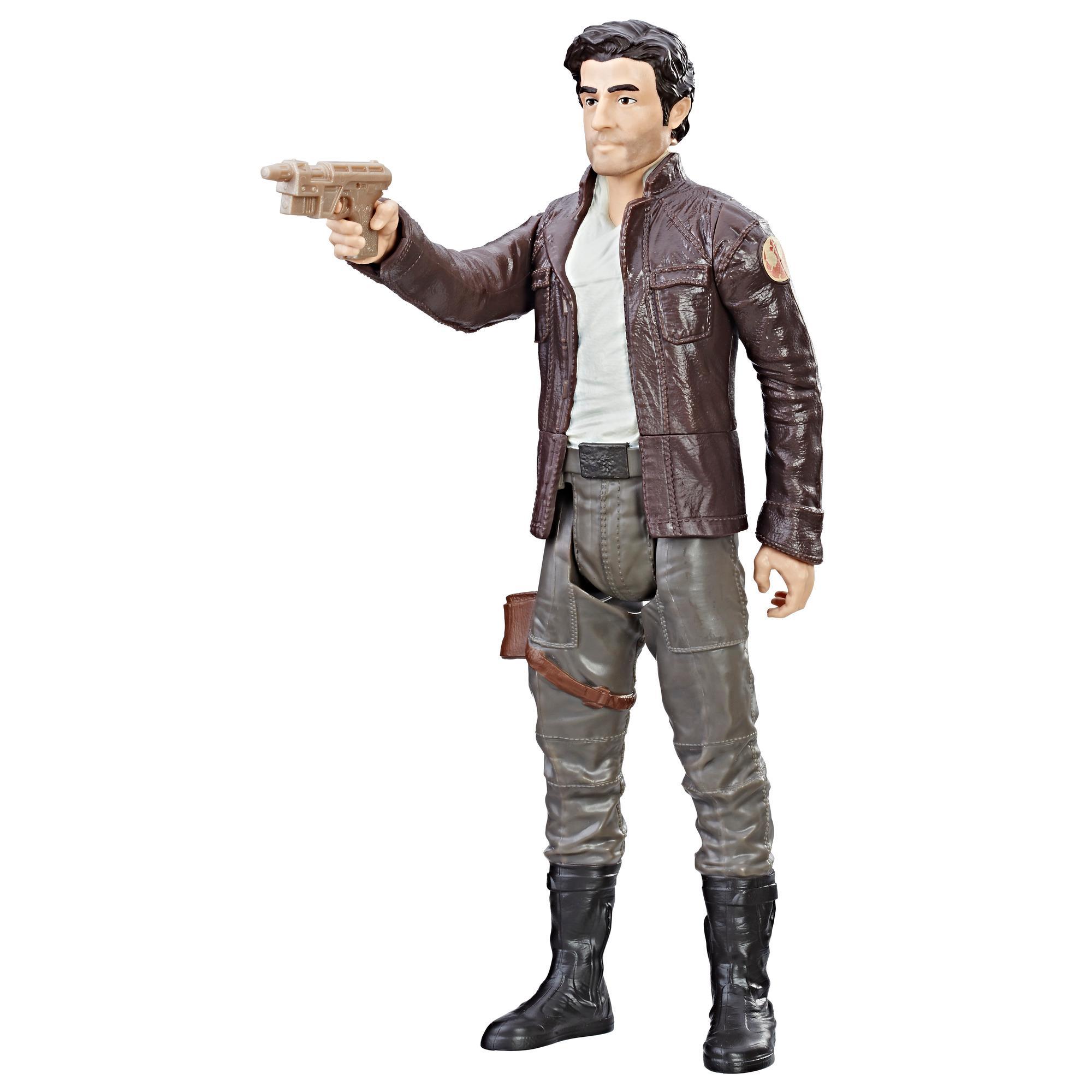 Star Wars: Les derniers Jedi - Figurine du capitaine Poe Dameron de 30 cm