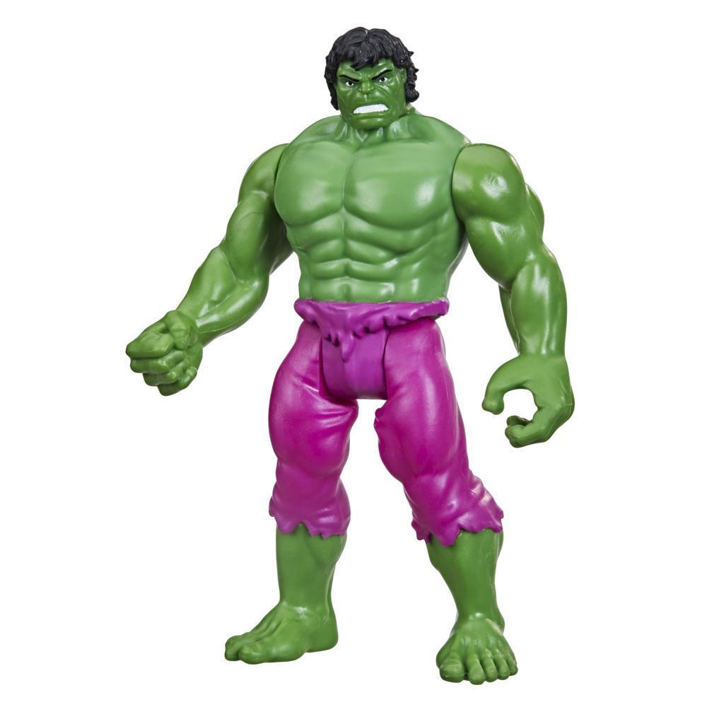 Hasbro Marvel Legends Series, figurine de collection retro Hulk de 9,5 cm