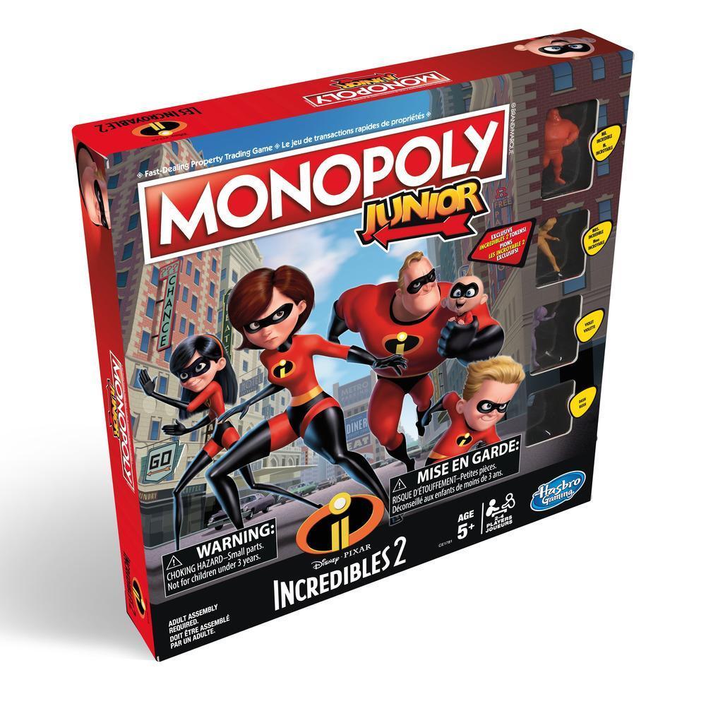 Jeu Monopoly Junior : édition Les Incroyable 2 de Disney/Pixar