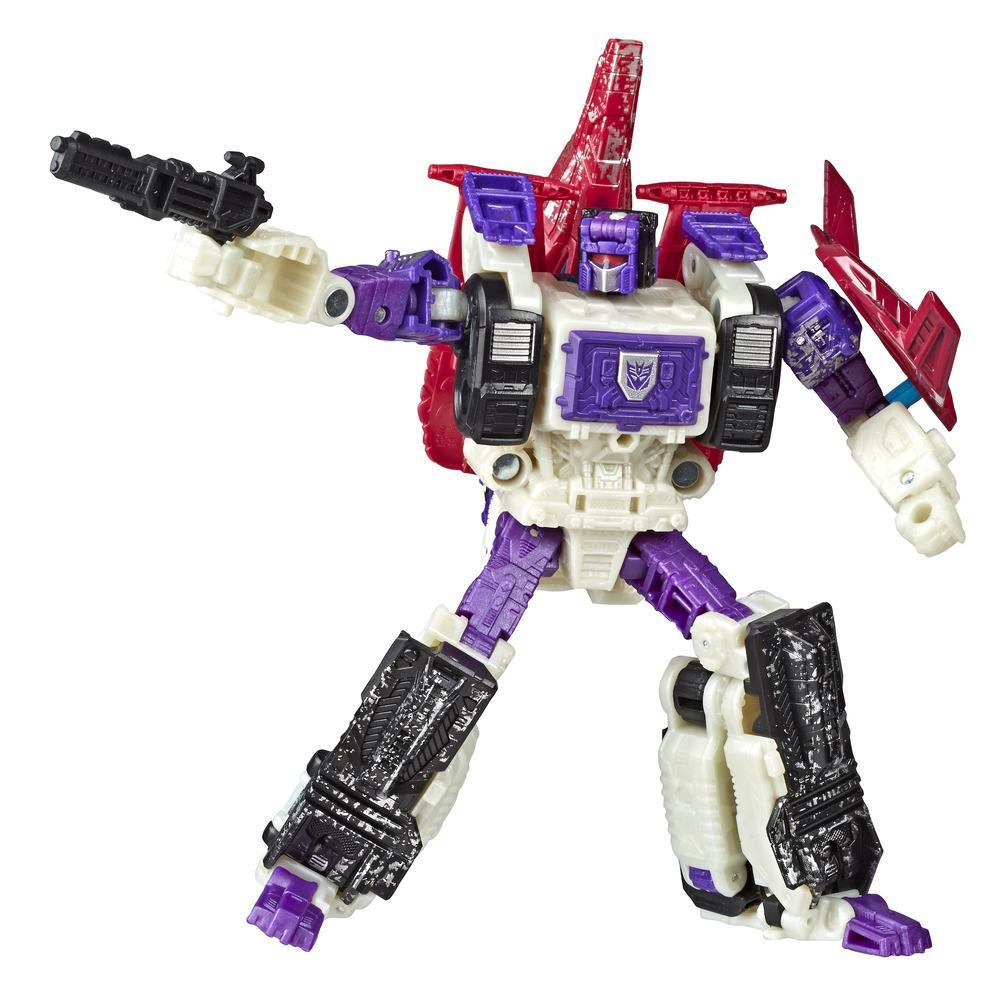 Jouets Transformers Generations War for Cybertron, figurine Apeface WFC-S50 classe voyageur à triple conversion, taille de 17,5 cm