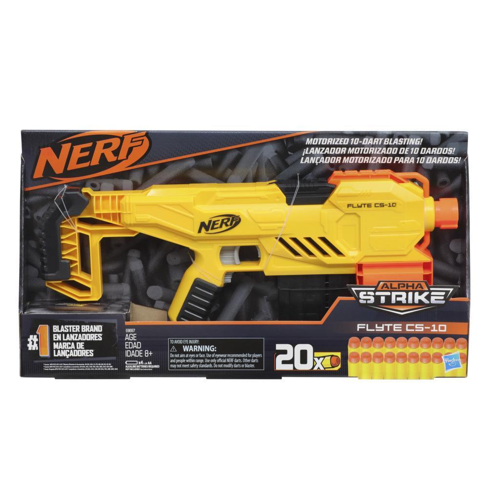 Blaster Nerf Alpha Strike Flyte CS-10