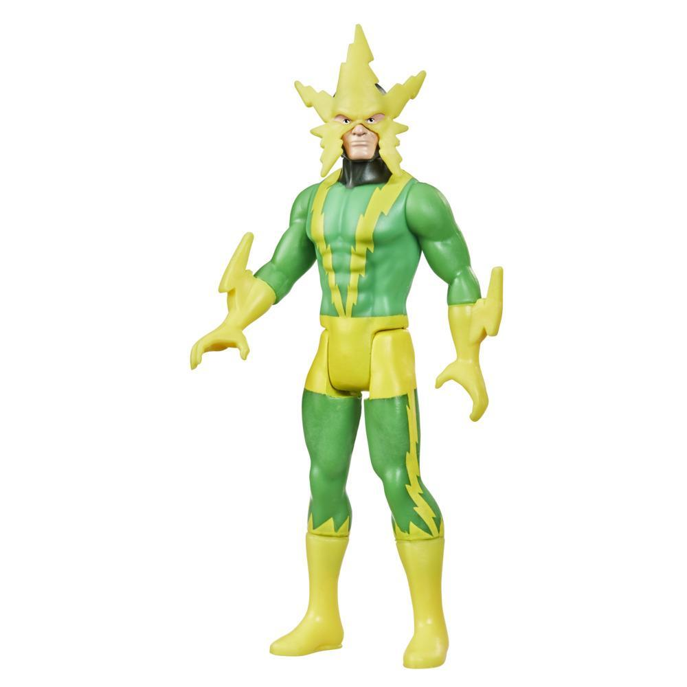 Hasbro Marvel Legends, figurine de collection retro Electro de 9,5 cm