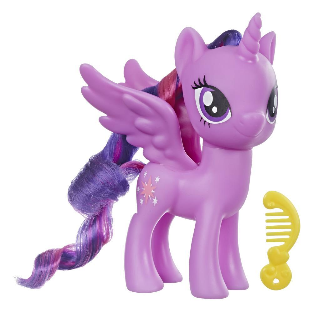 My Little Pony - Jouet Twilight Sparkle - Figurine de poney violet de 15 cm