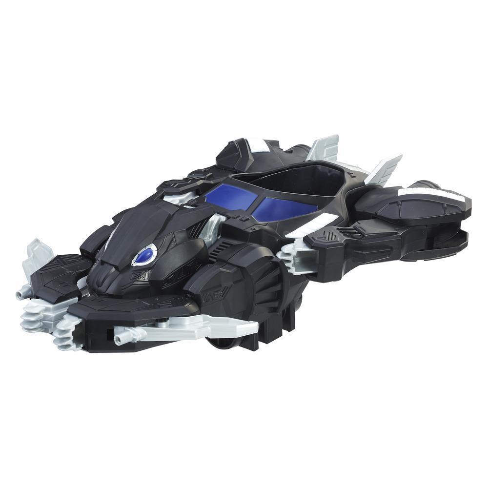 Marvel Black Panther - Véhicule Jet Panthère 2 en 1