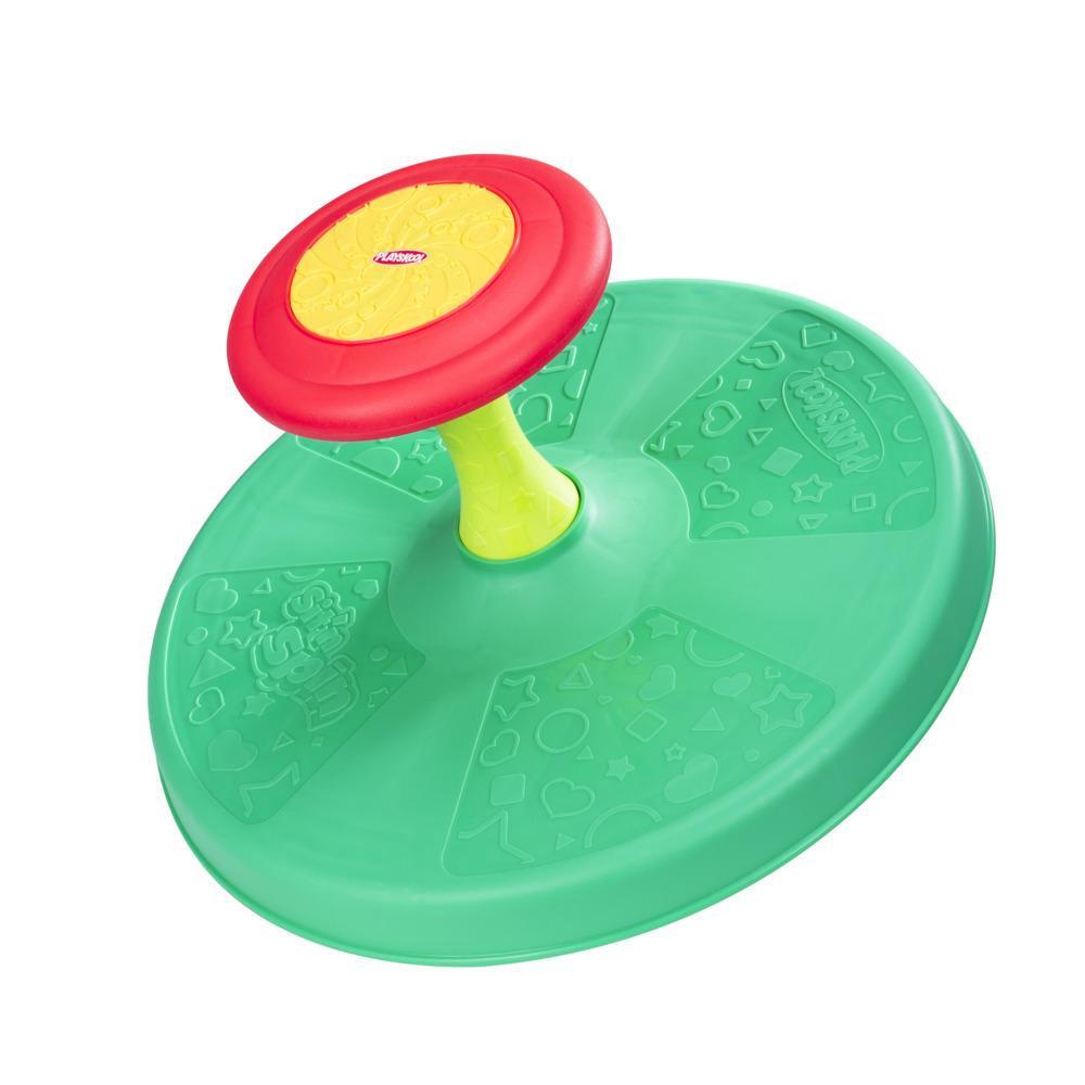 Playskool, Siège-toupie, jouet tournant classique pour tout-petits, à partir de 18mois