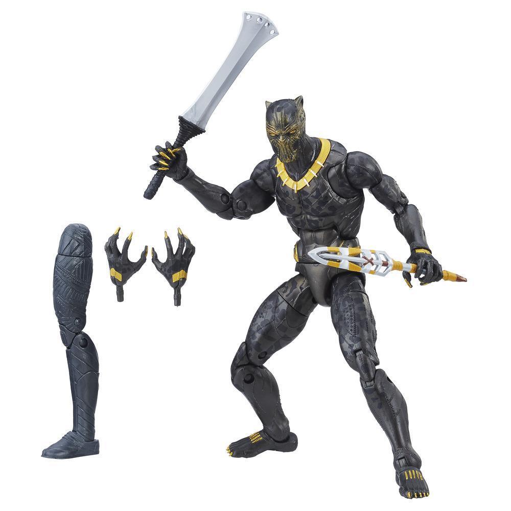 Marvel Black Panther - Série Marvel Legends - Figurine Erik Killmonger de 15 cm