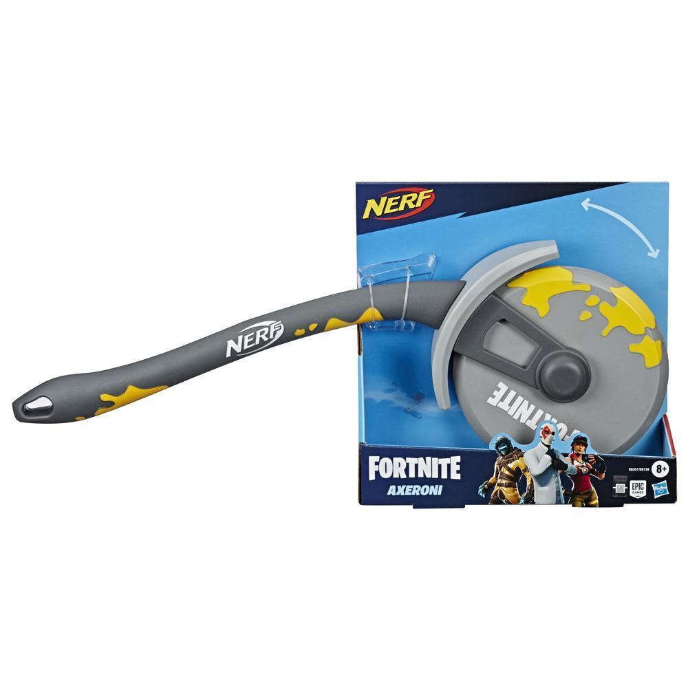 Nerf Fortnite Axeroni, outil de collecte avec lame recouverte de mousse, pour enfants, ados et adultes