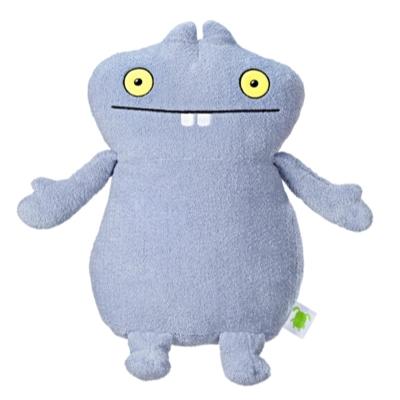 UglyDolls - Grande peluche Babo, d'une taille de 45,5 cm
