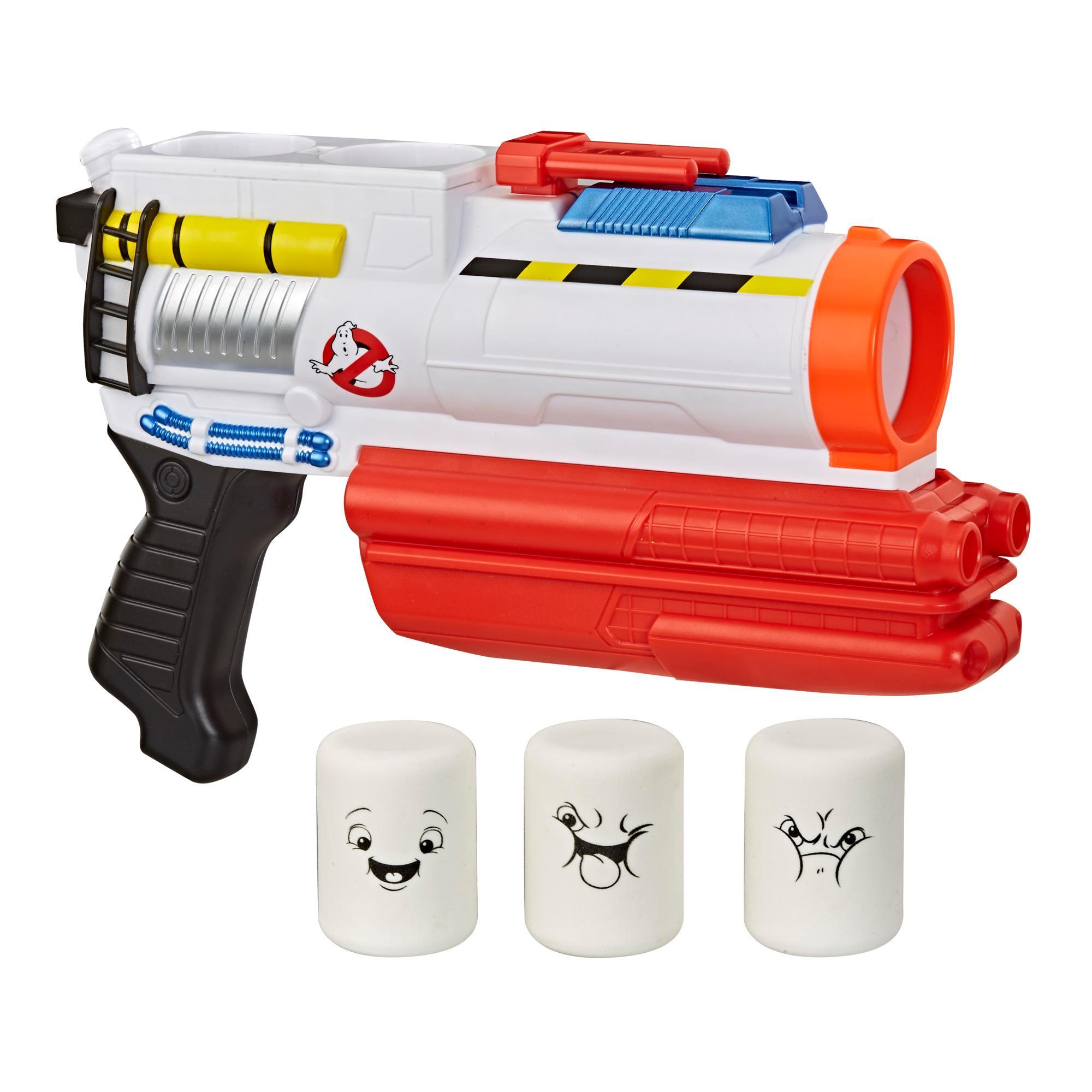 Ghostbusters, blaster Mini-Puft, jouet de déguisement avec 3 projectiles en mousse Puft, pour enfants, à partir de 8ans