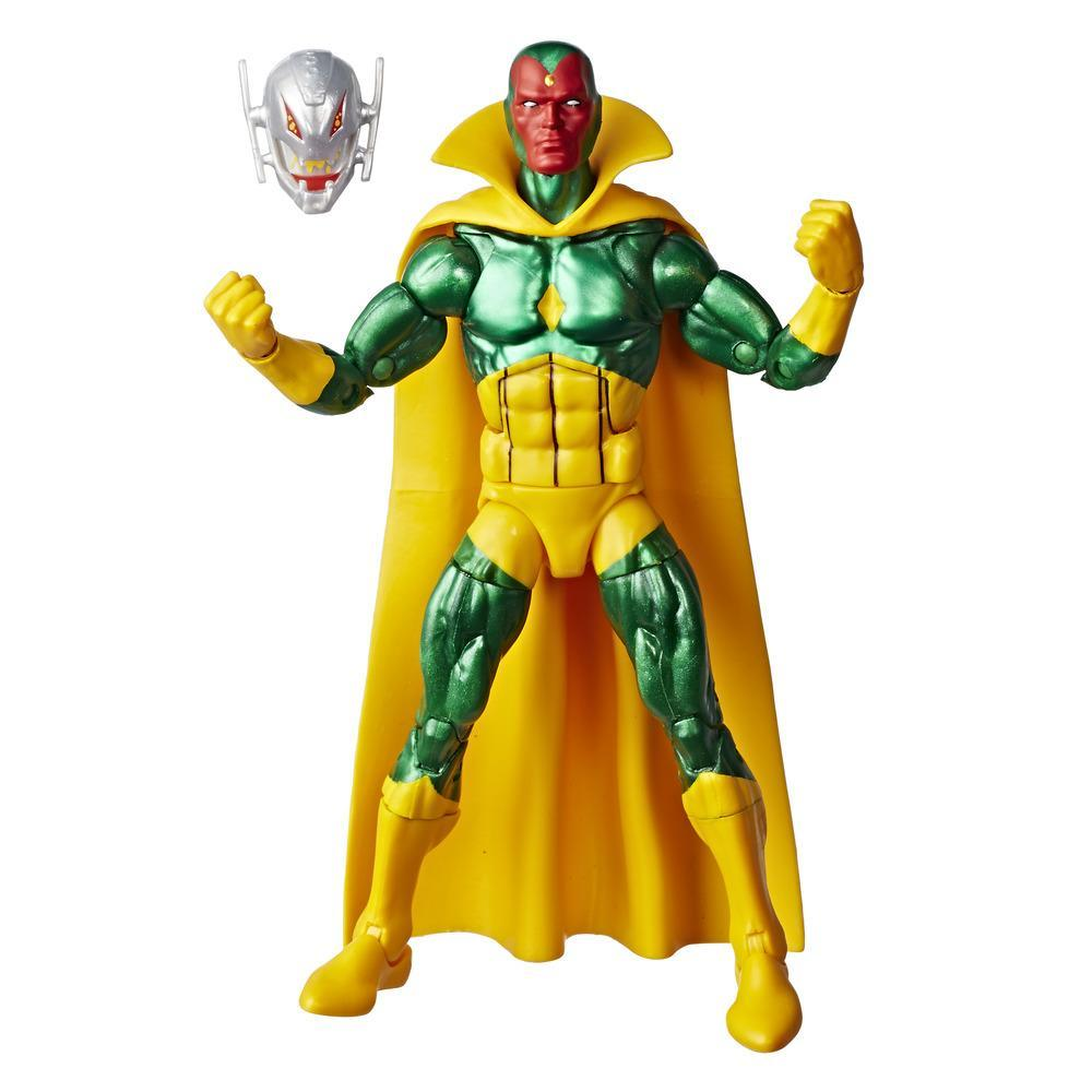 Marvel - Collection rétro - Figurine Marvel's Vision de 15 cm