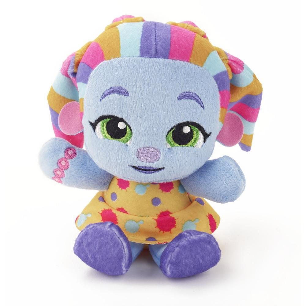Netflix Super mini monstres - Peluche Super mini monstres Zoe Walker, jouet pour les enfants de 3 ans et plus