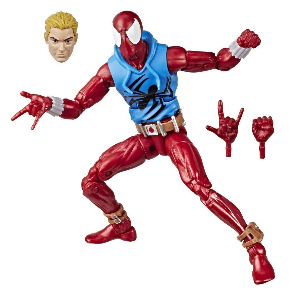 Marvel - Collection rétro - Figurine Scarlet Spider de 15 cm