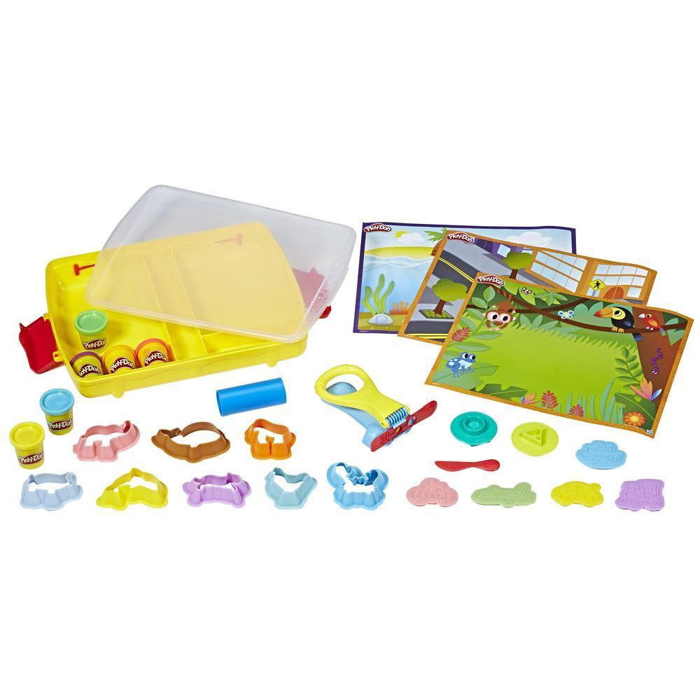 Play-Doh Crée et Apprends - Découvre et range