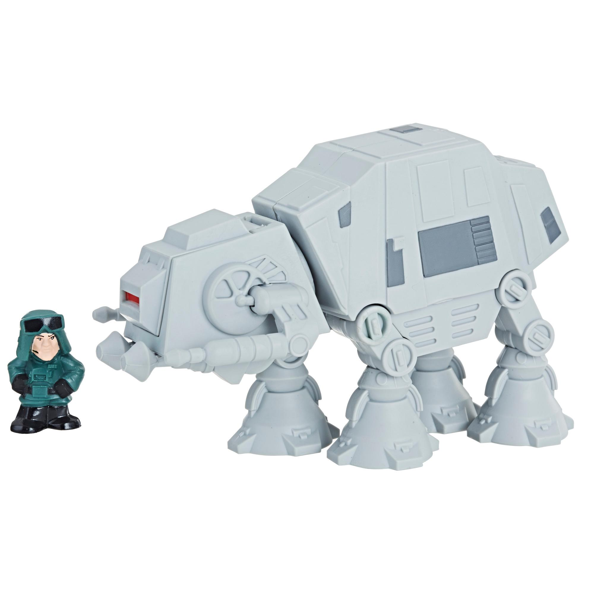 Star Wars Micro Force - Ensemble marcheur AT-AT et commandant d'AT-AT