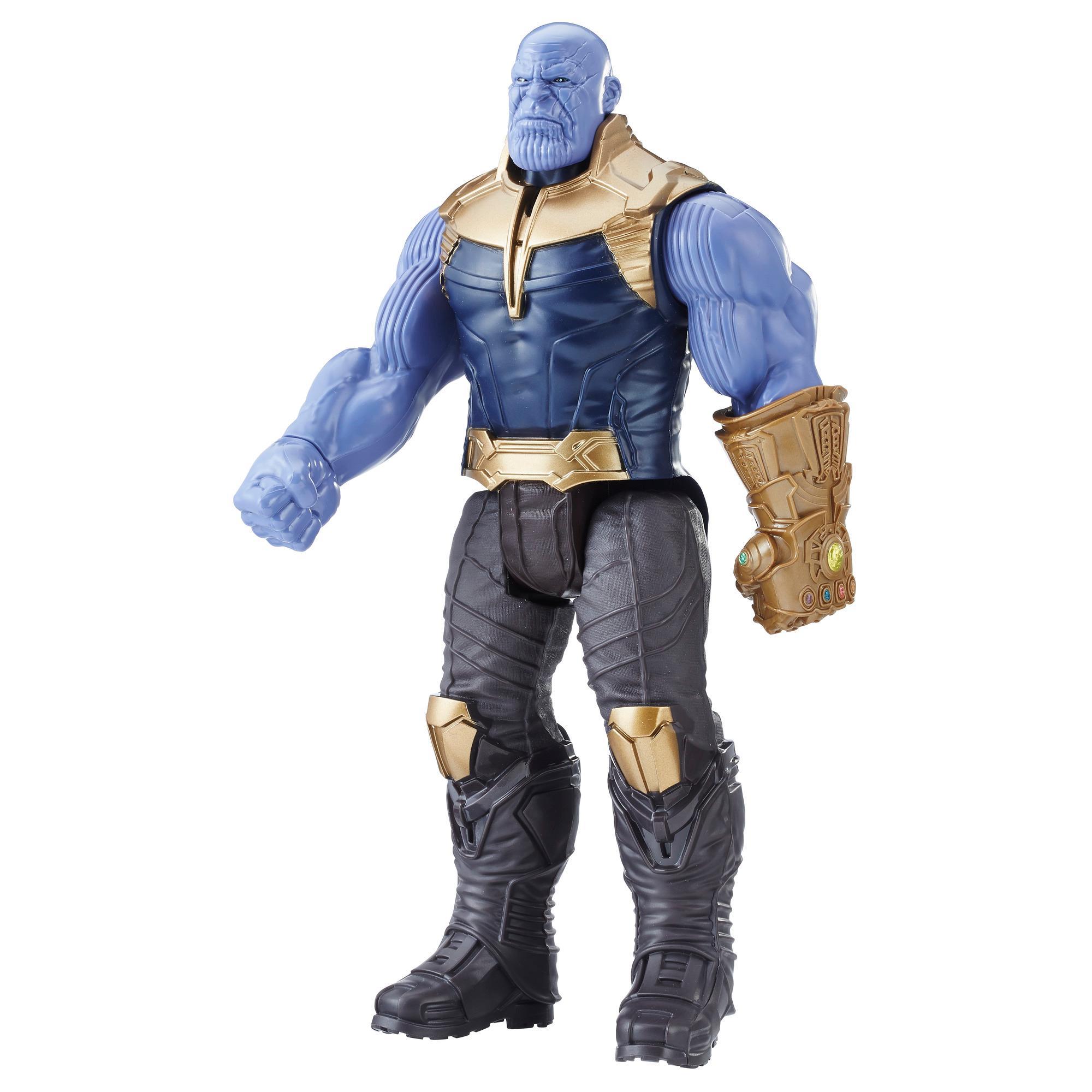 Marvel Avengers: La guerre de l'Infini - Titan Hero Series - Thanos avec port Power FX