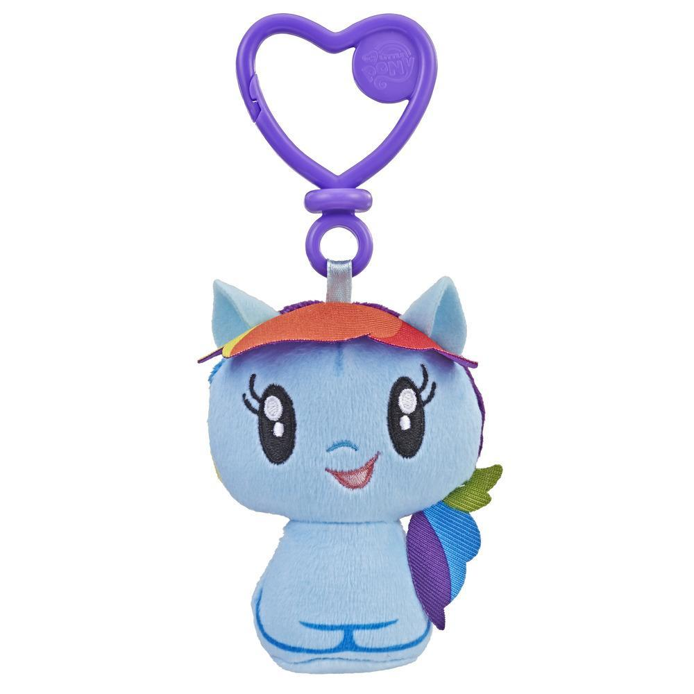 My Little Pony Cutie Mark Crew - Peluche à attacher du poney Rainbow Dash