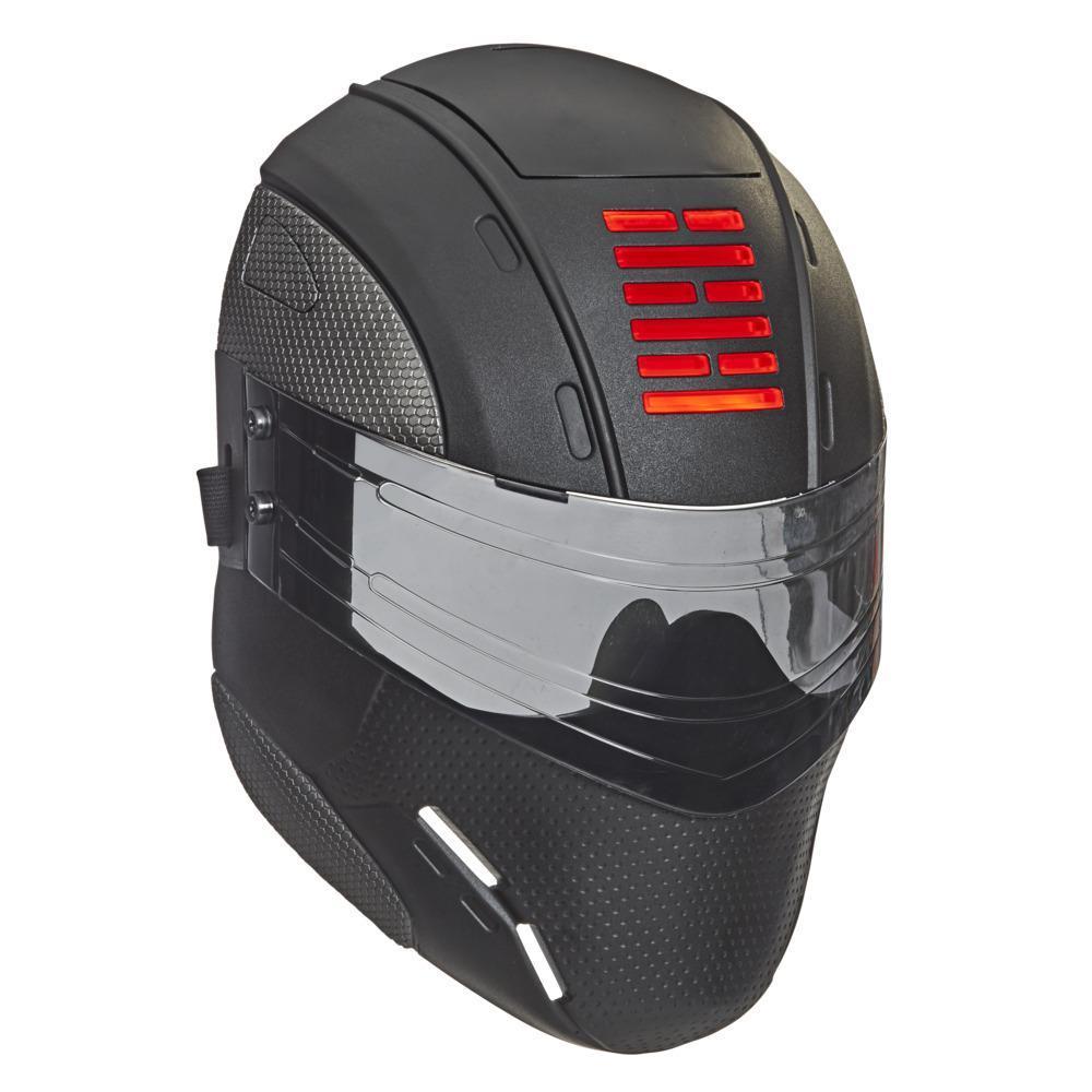Snake Eyes: G.I. Joe Origins, masque de mission spéciale de Snake Eyes avec lumières pour jeu de déguisement, dès 5 ans