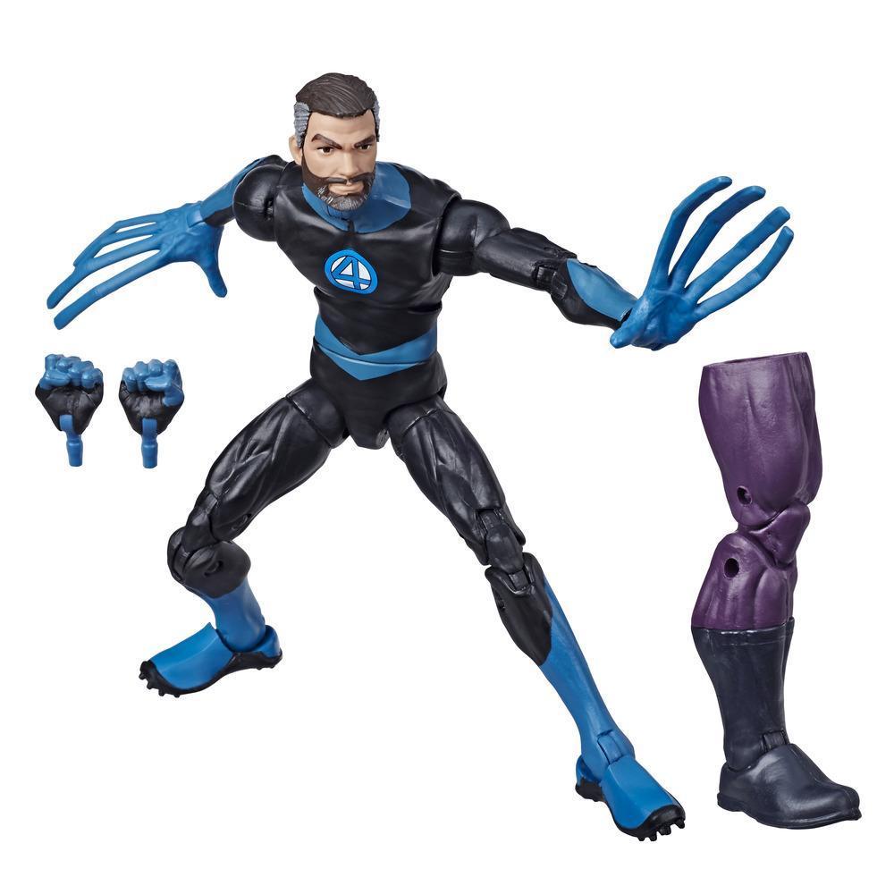 Hasbro Marvel Legends Series - Figurine jouet Mr. Fantastic de 15 cm, 2 accessoires, 1 pièce Build-a-Figure