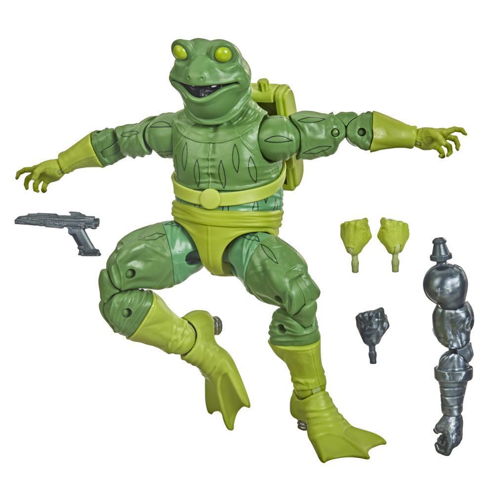 Hasbro Marvel Legends Series, figurine de collection Spider-Man Marvel's Frog-Man de 15 cm, pour enfants, dès 4ans
