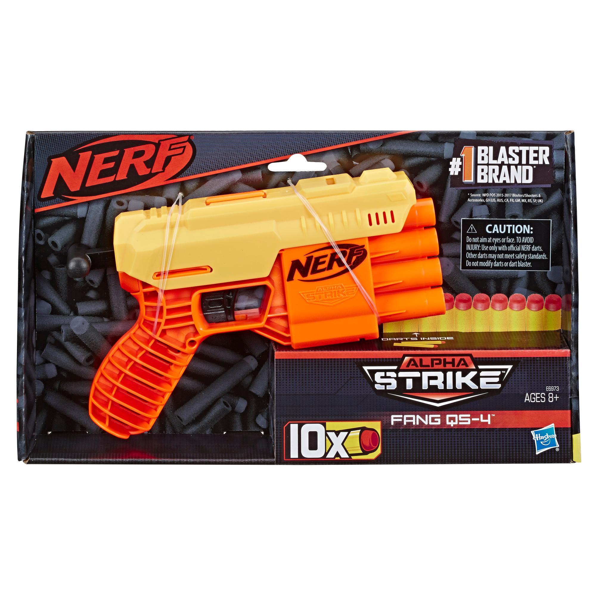 Foudroyeur jouet Fang QS-4 Nerf Alpha Strike