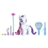 My Little Pony Jouet Salon magique avec Rarity - Poney de 15 cm à la mode dans un salon de coiffure
