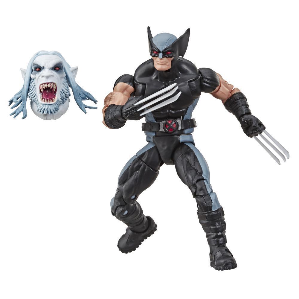 Série Marvel Legends de Hasbro, figurine articulée Wolverine de 15cm à collectionner (collection X-Men/X-Force) avec pièce Build-a-Figure de Wendigo