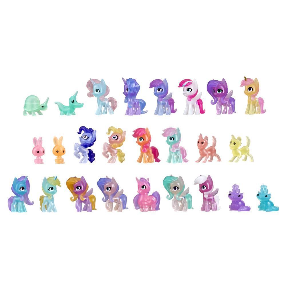 My Little Pony Nouvelle génération Calendrier de l'Avent, jouet pour enfants, 25 surprises