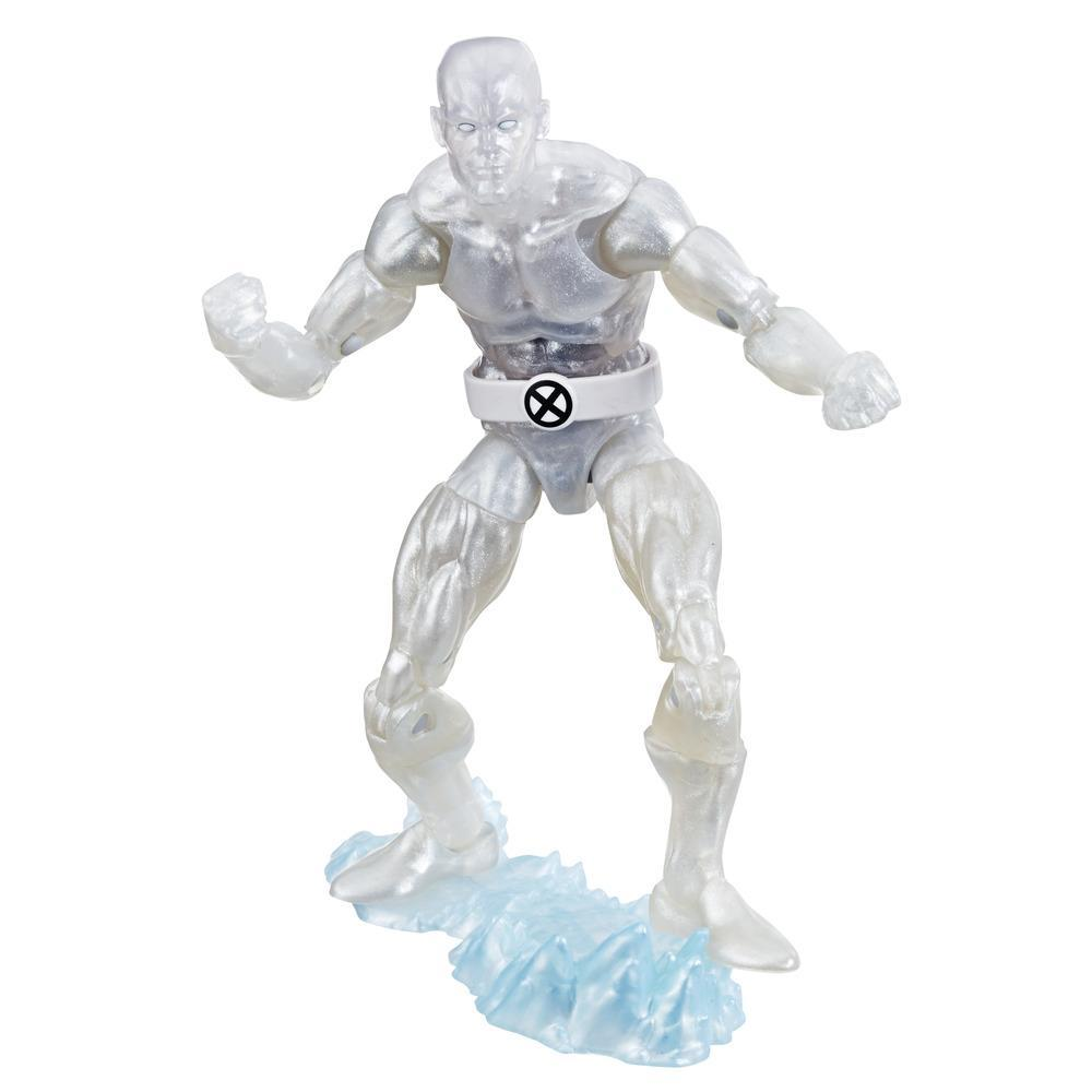 Collection Marvel Retro - Figurine Iceman X-Men de 15 cm, pour enfants à partir de 4 ans et collectionneurs