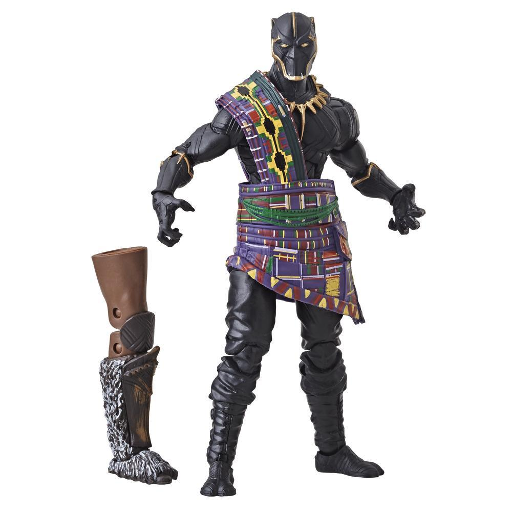 Marvel Black Panther - Série Marvel Legends - Figurine Panthère noire de 15 cm