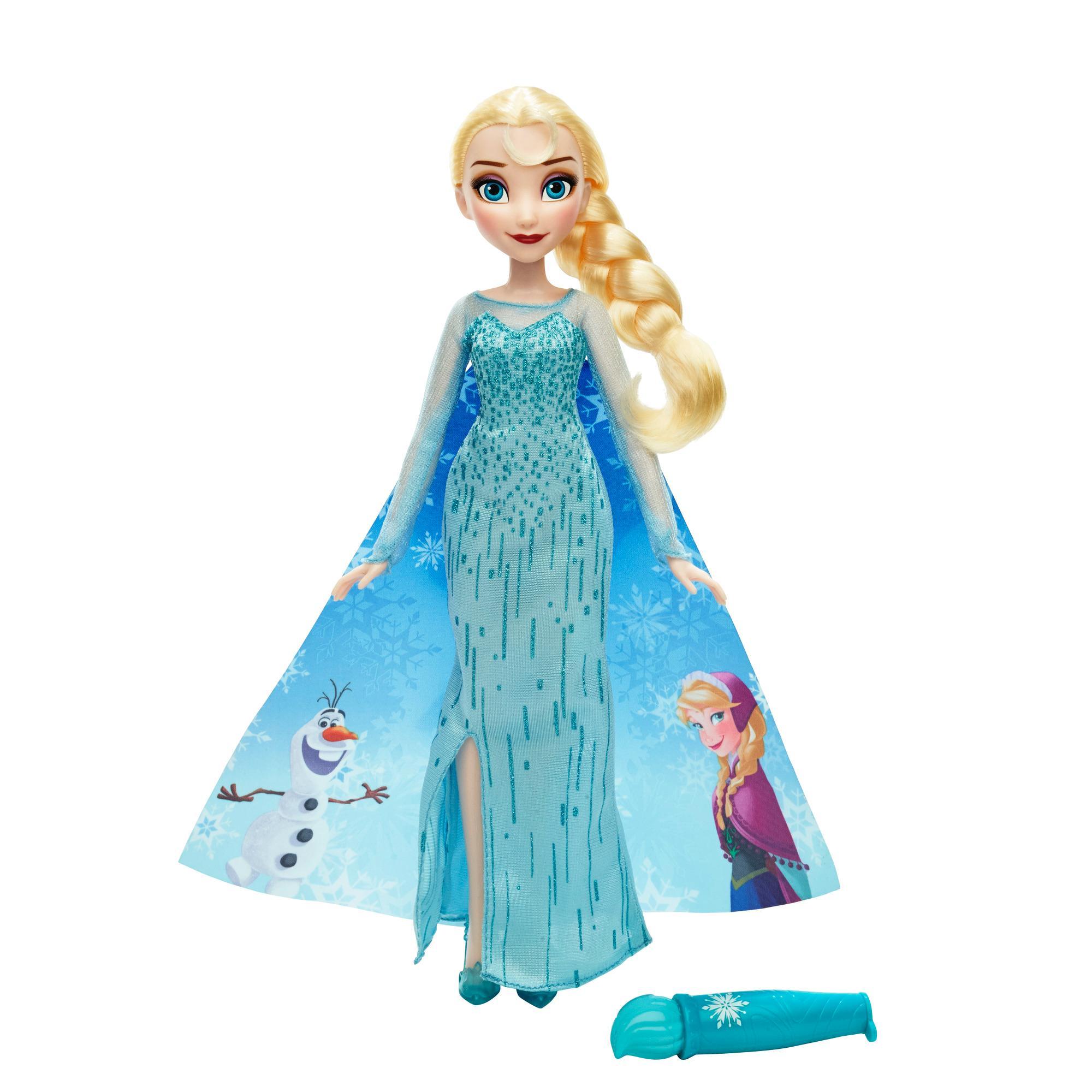 disney la reine des neiges elsa et sa cape magique