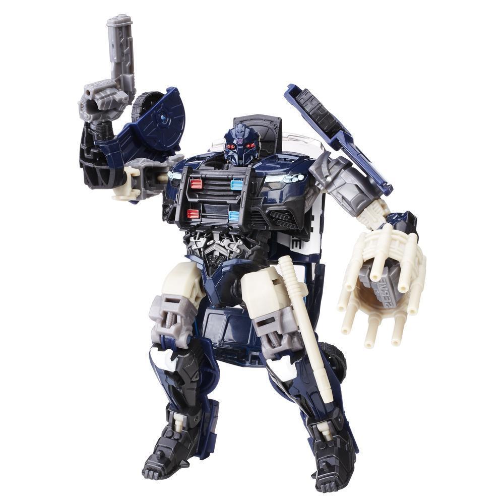 Transformers : le dernier chevalier–Premier Edition–Barricade de luxe