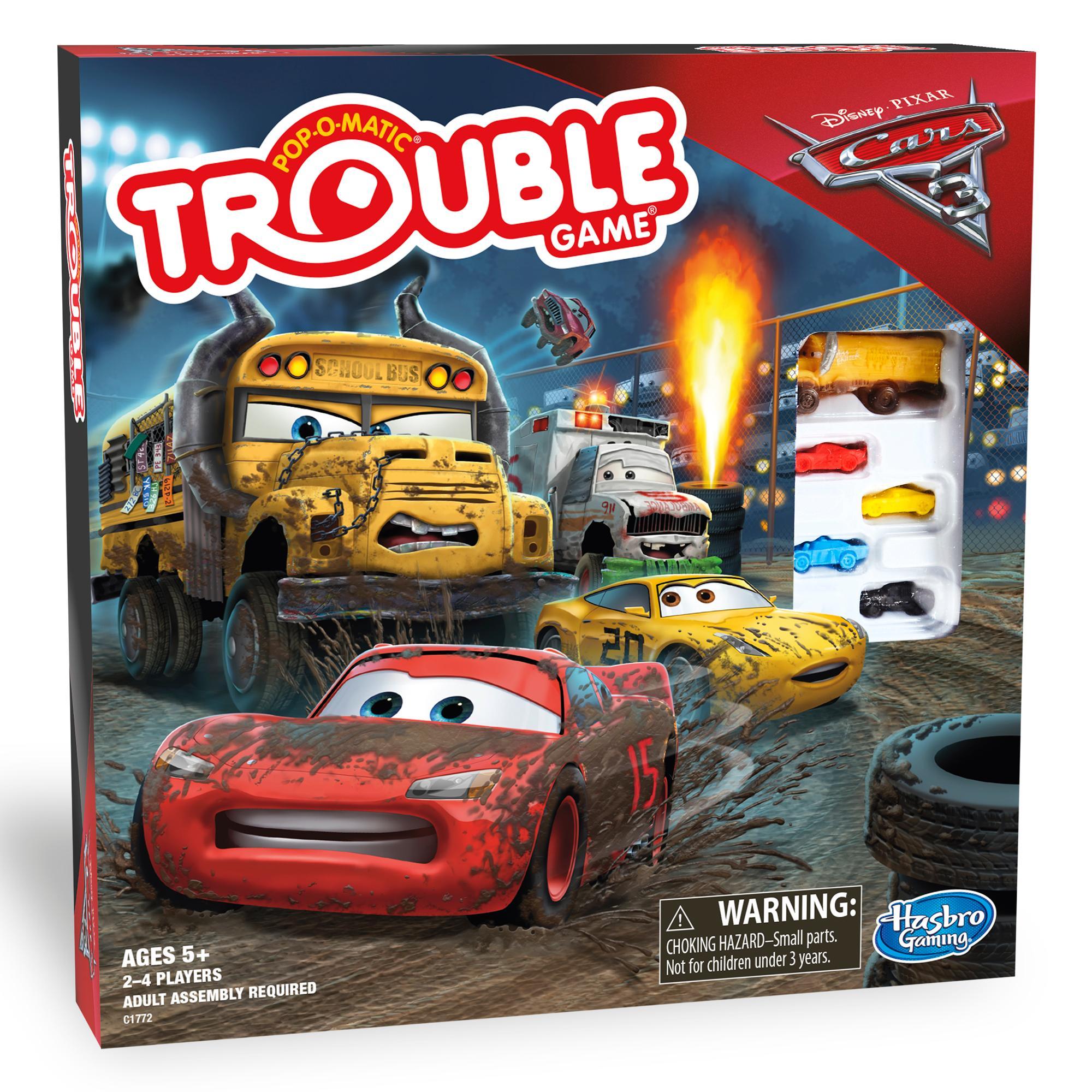 Jeu Trouble, édition Les bagnoles 3 Disney / Pixar
