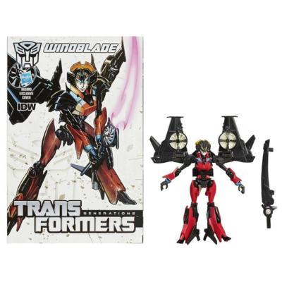 Transformers Generations – Figurine Windblade de classe de luxe